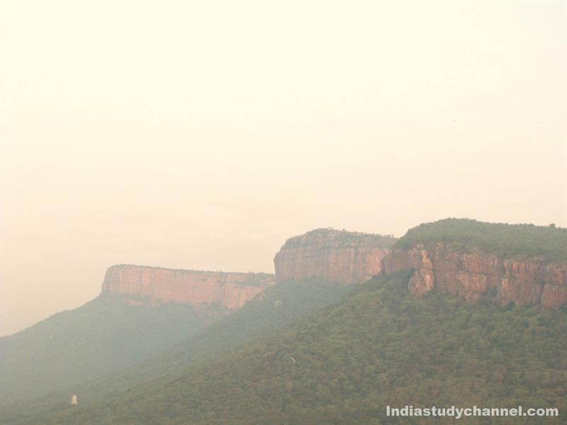 Beautiful picture of Tirumala Hills, Tirupati