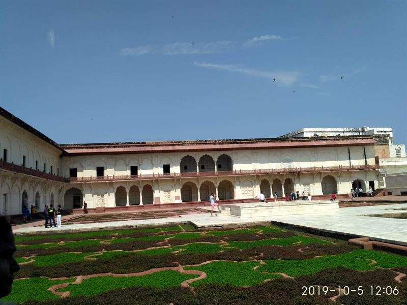 Anguri Bagh in Agra Fort, Agra, UP