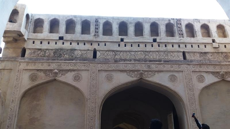 Architectural Style of Golconda Fort,Hyderabad