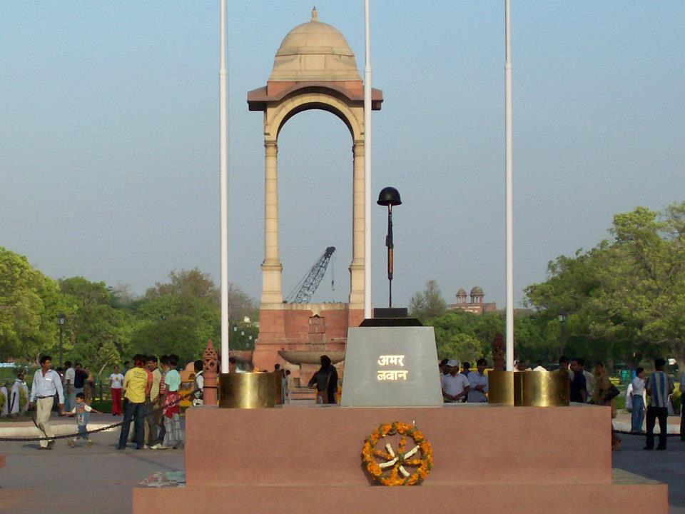 Amar Jawan Jyoti at India Gate