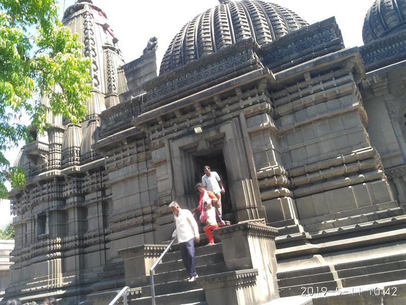 Beautiful Kalaram Temple in Panchavati area of Nashik, Maharashtra