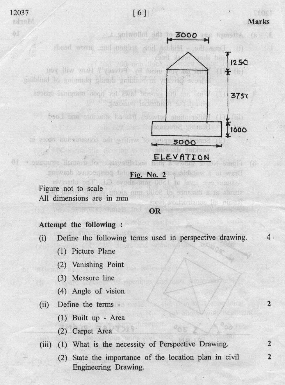 maharashtra state board  technical education msbte question paper  diploma