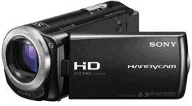 Sony's Flash Memory HD Camcorder Black Model No. HDR-CX260VE