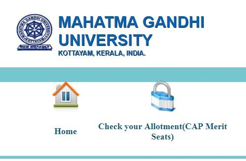 Kerala PGCAP MGU 2019 third allotment result and ranklist