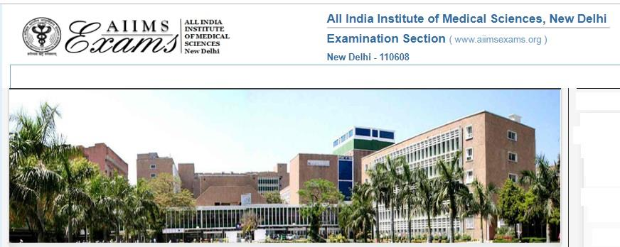 Check AIIMS Delhi Nursing Officer exam result 2019 Merit List Cut Off Marks