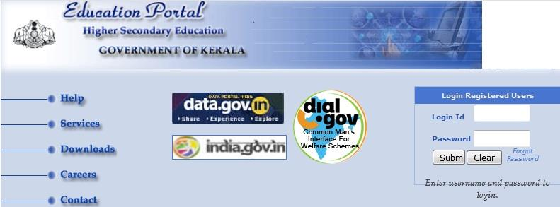 Kerala Plus One +1 and Plus Two +12 (Intermediate) exams Hall Tickets 2020 release