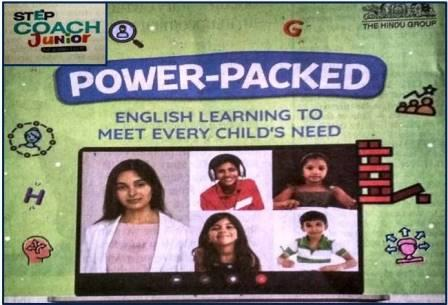 The Hindu Step Coach Junior Online English Classes Banner